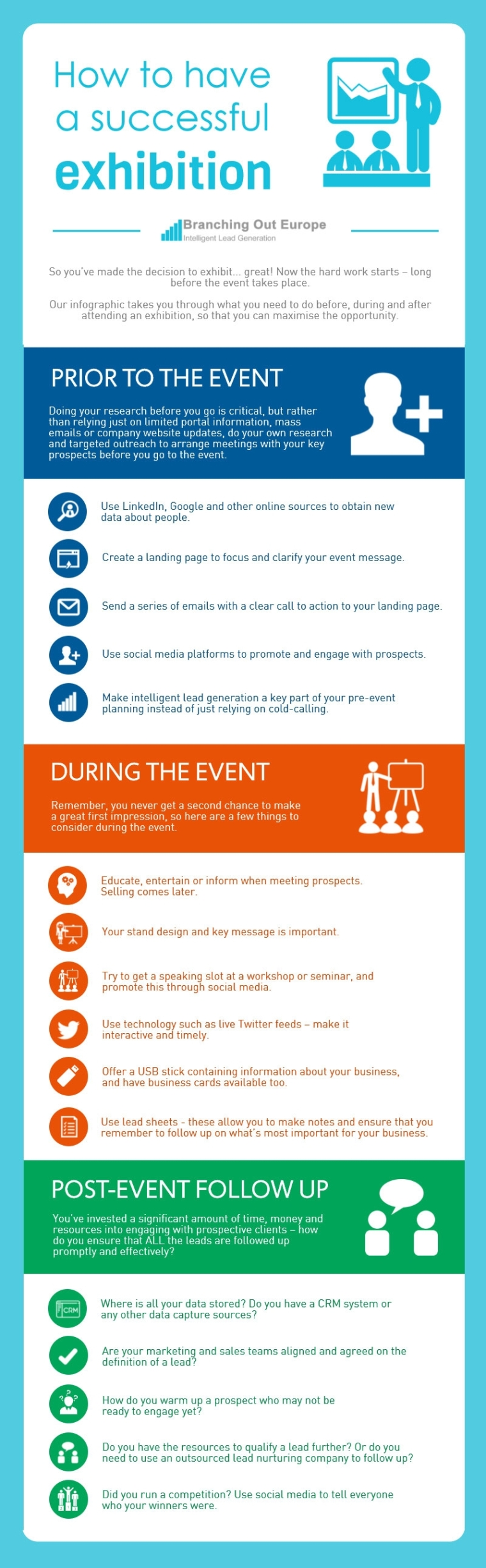 how-to-have-a-successful-exhibition-b2b-marketing-infographic